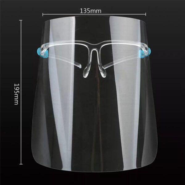 Protector facial con lentes cormedic