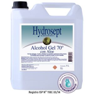 Alcohol Gel 5L Certificado...