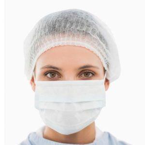 Gorro clip hospitalario